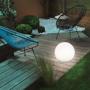 LED Solar Leuchtkugel Mega-Balls, Ø 40 cm 40,00 cm, 1.500 mAh