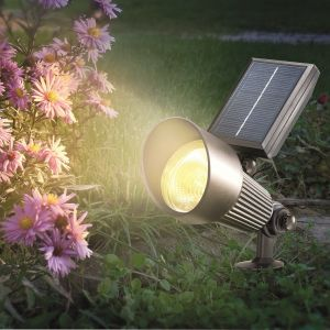 LED Solar Spotlight RGB