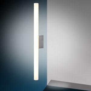 LHG LED Spiegelleuchte, modern, Edelstahl, schlankes Design, inkl. 9W LED 1x 9 Watt, 50,00 cm