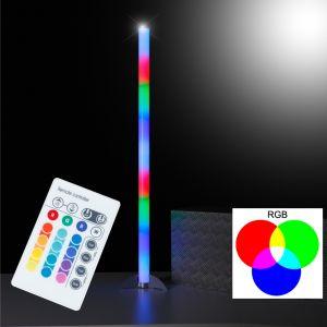 LED Stehleuchte Rocky  Kunststoff klar, Fernbedienung