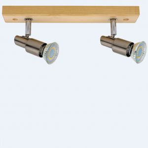 LED Strahler Classic Wood in Eiche Eiche