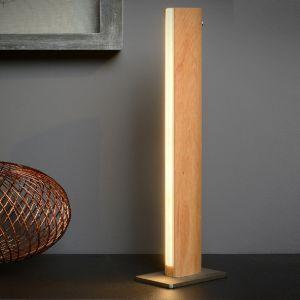 LED Tischlampe Sytze von Lucide mit Holz