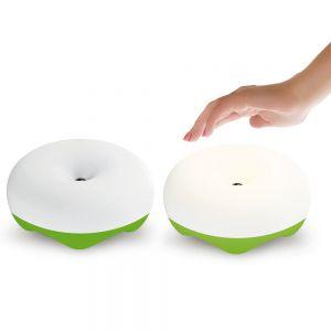 LED Tischleuchte Bluma mit Akku und Gestensteuerung