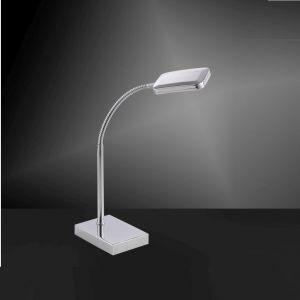 LED Tischleuchte Wella, Leseleuchte, Schnurschalter, Flexarm