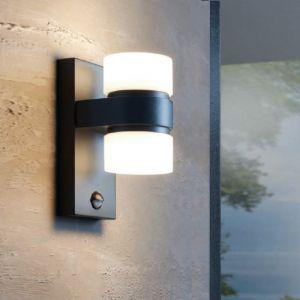 LED Wandleuchte Atollari mit Bewegungsmelder