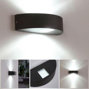 Led Außenwandleuchten Led Außenwandlampen Shop Wohnlicht