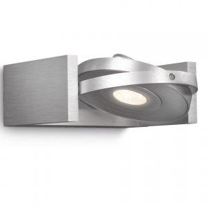 LED Wandleuchte aus Aluminium schwenkbarer Spot