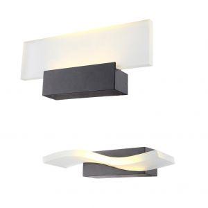 LED Wandleuchte Fast, Glas wählbar