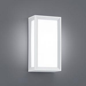 LED Wandleuchte für Außen - Aluminium / Kunststoff Weiß