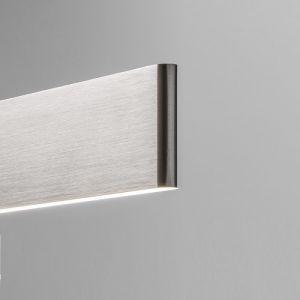 LED Wandleuchte Justus - Aluminium matt aluminiumfarben