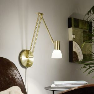 LED Wandleuchte, Leseleuchte, Drehdimmer, 2 Varianten