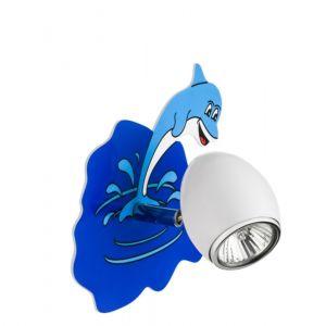 LED Wandstrahler Delfin , inkl. 4,5W LED  Kinderzimmer