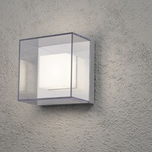 LED-Außenwandleuchte Aluminium -  9 x 1 Watt LED