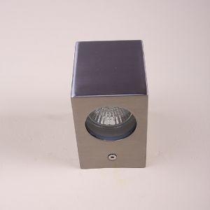 LHG LED-Außenwandleuchte aus Edelstahl mit Lichteffekt