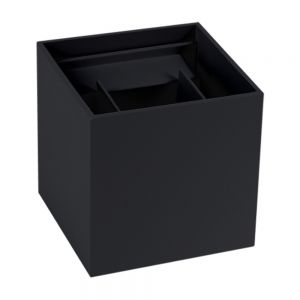 LED-Außenwandleuchte schwarz inkl. 6W 660lm 3000K schwarz