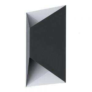 LED-Außenwandleuchte Up&Down, in weiß, LED 2x2,5 Watt