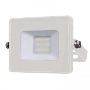 LED-Außenwandstrahler in weiß mit 10 Watt LED