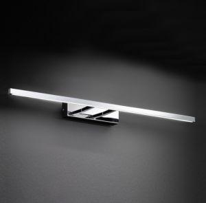 LED-Bilderleuchte Chrom glänzend, rechteckig, schlicht modern, 59,5cm lang 1x 10,2 Watt, 59,50 cm