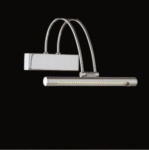 LED-Bilderleuchte Länge 26cm in Chrom silber, Chrom
