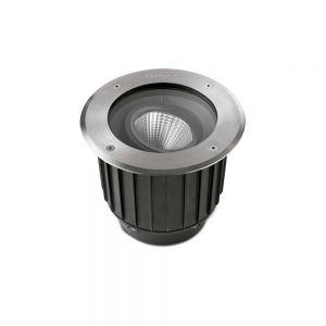 LED-Bodeneinbauleuchte GEA aus Edelstahl inkl. LED
