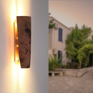 LHG LED-Dachziegel-Außenleuchte Up&Down