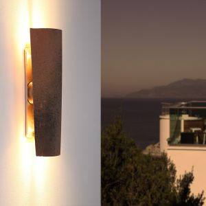 LHG LED-Dachziegel-Außenleuchte Up&Down H45cm