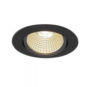 LED-Deckeneinbauleuchte New Tria schwarz
