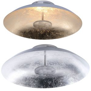 LED-Deckenleuchte Ø 50cm mit edler Oberfläche
