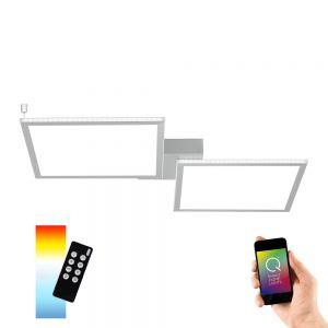 LED-Deckenleuchte 2x24W Q®-Rosa, Smart Home ZigBee kompatibel