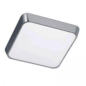 LED-Deckenleuchte in Alu-gebürstet, Kunststoff, 29 cm 1x 12 Watt, 29,00 cm, 29,00 cm