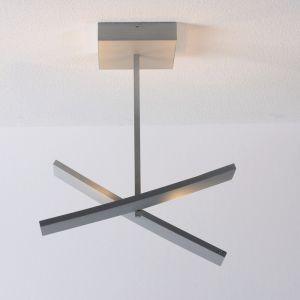 LED-Deckenleuchte Arco, schwenkbar, Alu geschliffen