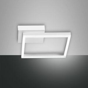 LED-Deckenleuchte Bard in weiß, 27x27cm weiß