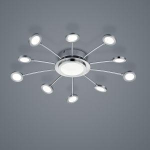 LED-Deckenleuchte Bodrum, Lichtfarbe variabel, Fernbedienung