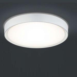 LED-Deckenleuchte Clarimo - Acrylglas-Weiß weiß