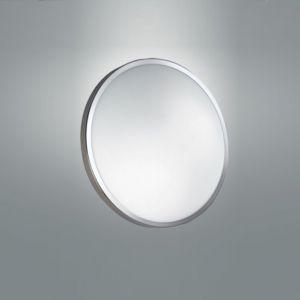 LED-Deckenleuchte 40 cm, LED warmweiß, Chrom chrom
