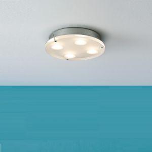 LED-Deckenleuchte Minor in rund, Acryl satiniert rund, 23,00 cm