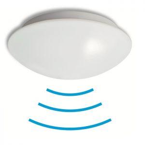 LED-Deckenleuchte mit HF-Bewegungssensor, 9,6W