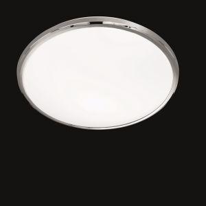 LED-Deckenleuchte Nicolas, Kunststoffglas weiß, Ø 42cm 1x 23 Watt, 42,00 cm