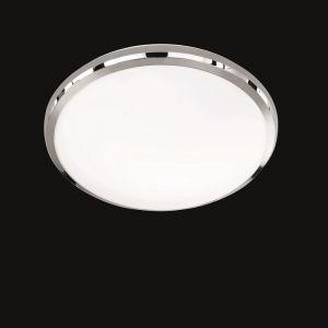 LED-Deckenleuchte Nicolas, Kunststoffglas weiß, Ø 31cm 1x 12 Watt, 31,00 cm