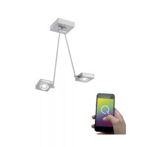 LED-Deckenleuchte Q®-Fisheye, 4-flammig 4x 3 Watt, 52,50 cm, 83,50 cm, 25,50 cm