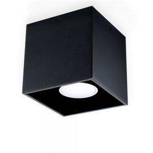 LHG LED-Deckenleuchte Quad schwarz, inklusive 7 Watt