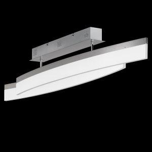 LED-Deckenleuchte Segel mit weißem Acyrlglas