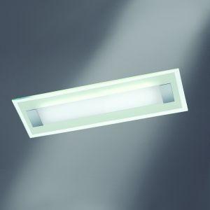 LED-Deckenleuchte Xena L mit Glas weiss-matt, 70 cm 2x 15 Watt, 70,00 cm