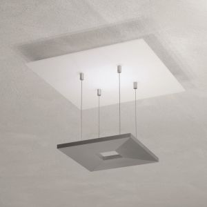 Escale LED-Deckenleuchte Zen in Aluminium geschliffen