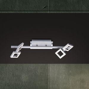 LED-Deckenleuchte, 4 x LED 2,5W, je 230lm