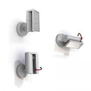 LED-Design-Außenleuchte, schwenkbar  8x3Watt