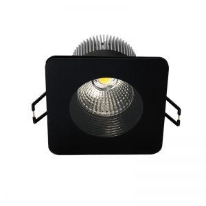 LED-Einbau-Downlight für die Decke - Eckig Schwarz