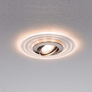 LED-Einbauleuchte mit LED Ring, 3er-Set mit GU10 4,5W