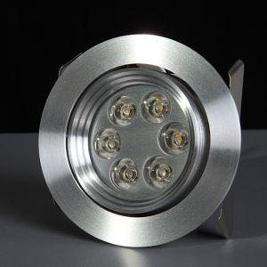 LHG LED - Einbauspot - Aluminium - LED 6 Watt warmweiß