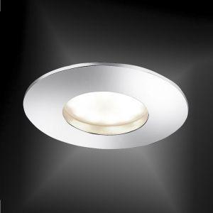 LED-Einbaustrahler in Chrom - 5W LED - 4-stufig dimmbar